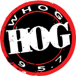 95.7 The Hog WHOG-FM logo