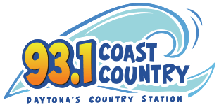 93.1 Coast Country WKRO-FM logo