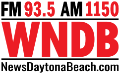 93.5 WNDB News Daytona Beach logo